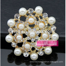 European and america pearl austrican crystal brooch